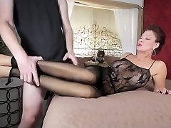 Mother in stocking
