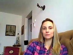 Maria de la Braila veido videochat