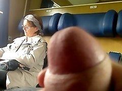 Rongi Dick flash Küps - Cum