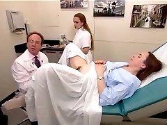 Nekilnojamojo egzamino vaizdo įrašą iš plaukuotas brandaus amžiaus moteris, 2
