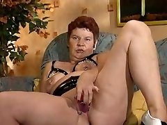 German Pierced Mature Getting Smashed