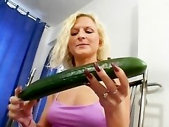 The cucumber always heads first-ever