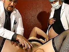 Yam-sized French mature gets weird assfucking insertions