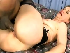 Hot mature wife in stockings rails BBC