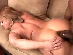 Round mature Wife gets her very first big black cock in her tight asshole...F70