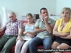Vanem abielupaar võrgutab noorpaar
