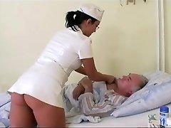 Močiutė laikrodžiai senelis fucks slaugytoja ligoninėje