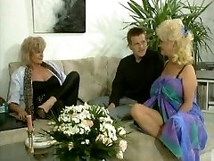 Big tited blonde brings her pleasure button to life