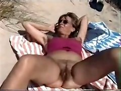Unshaved on the Beach