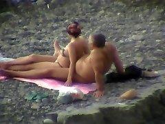 Fumbling on the beach