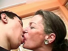Kissing Grannie