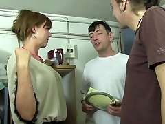 Reife Swinger - Red-hot MMF threeway with lusty mature German