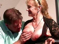 Vokietijos Žingsnis-Mama, Nori Jo Didelis Gaidys ir Suvilioti jį Fuck