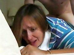 recently divorcee mummy janet & her first anal