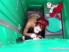 Porta Gloryhole Brandus Redhead slurping gaidžiai