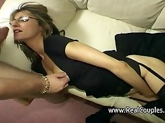 Wife yells loudly while fucked in backside