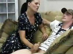 Stacey's Ema - Veronica Cfnm Handjob