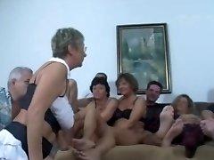 German Mature Swingers Smash Party