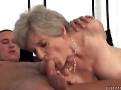HOT GRANNIES SUCKING SPEARS COMPILATION Three