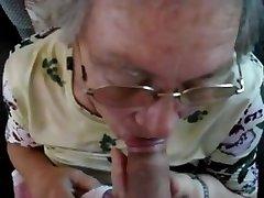 Vanaema Blowjobs Koostamine 3