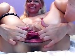 Amazing Amateur movie with Fisting, Widely Opened sequences