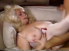 Good-sized Titty Blond Gets Pumped On The Sofa