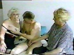 Saksa Vanaema Küps Oma Sugu