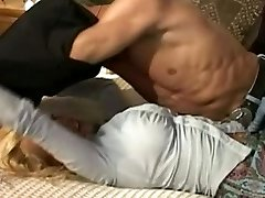 Busty mom in relation with her step-son-in-law