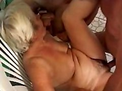 Grannie piss and tear up at pool and sauna