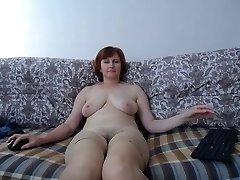 on the sofa