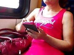 Vengrijos tinkamumo granny traukinyje - gražus cammeltoe