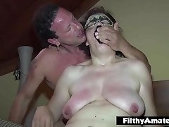Mature cockslut take foot in pussy! Extreme fuck-a-thon!
