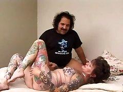 Ron Jeremy & Tätoveering Sue