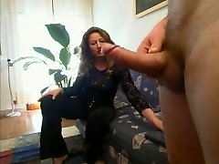 mature italian mom drilled
