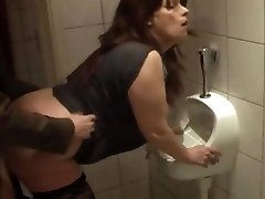 whore fuckin'  kathy in my local club wc