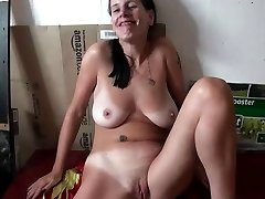 Gorgeous Submissive German Slave, Fucked and Jizm on Pussy Trio