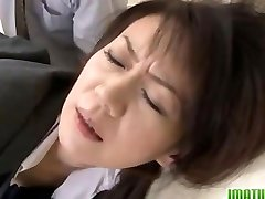 Hard impaler for a cock-squeezing mature