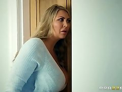 Brazzers - Mummy and stepdaughter and one fortunate cock