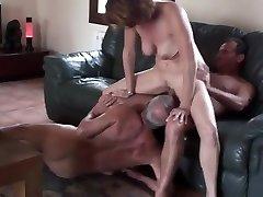 Amateur mature cuckold three-way 2