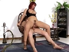 very magnificent mature red hair assfucked