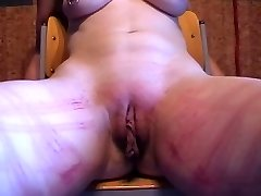First-timer Slave Session whip