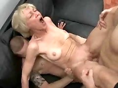 Totally Slutty Grandmother Loves To Take Young Cocks And Jizz !