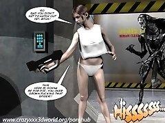 3D Komiksai: Spermaliens. 1 epizodas