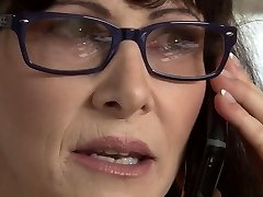 Hottest pornographic star Alexandra Silk in horny brazilian, facial cumshot porn scene