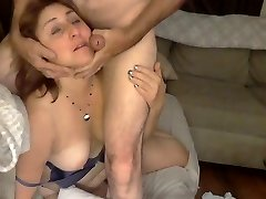 Big Donk Mommy Gets A Facial