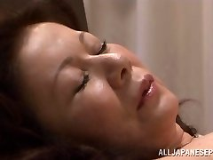 Chizuru Iwasaki super-hot mature Asian chick is fucked rock-hard