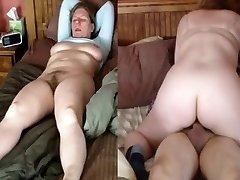 Naine seljas ja orgasm