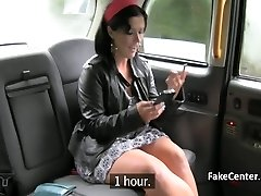 Mature gypsy got rectal fuck in taxi