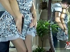 Italian mommy and son tits cumshot