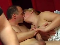 Horny couples fuck really rock hard together